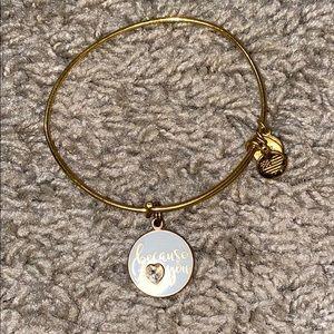 Alex & Ani - Because I 💙 you - Bracelet